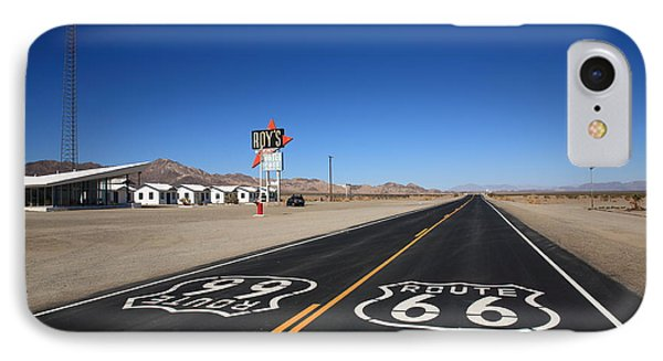 Route 66 Shield Phone Case by Frank Romeo