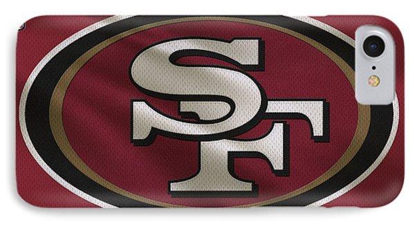 San Francisco 49ers Uniform IPhone Case by Joe Hamilton