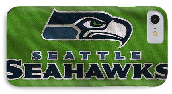 Seattle Seahawks Uniform IPhone Case by Joe Hamilton