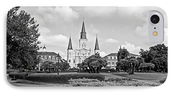 St. Louis Cathedral Phone Case by Scott Pellegrin
