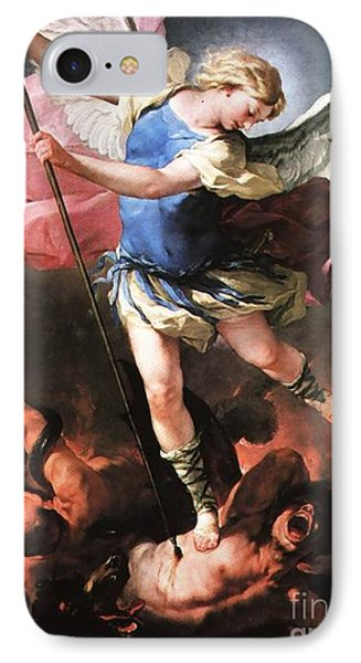 St. Michael IPhone Case by Archangelus Gallery