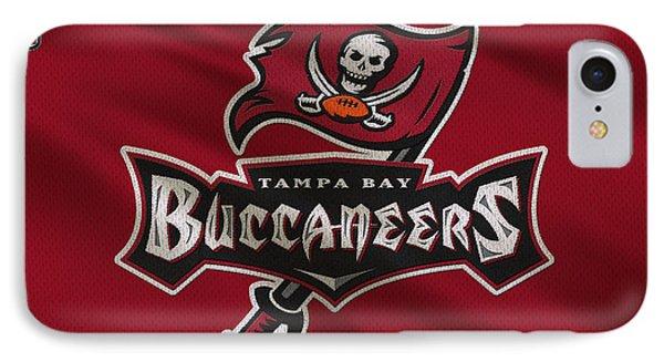Tampa Bay Buccaneers Uniform IPhone Case by Joe Hamilton