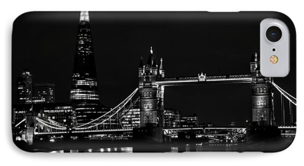 The Shard And Tower Bridge IPhone Case