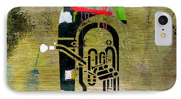 Tuba IPhone Case by Marvin Blaine