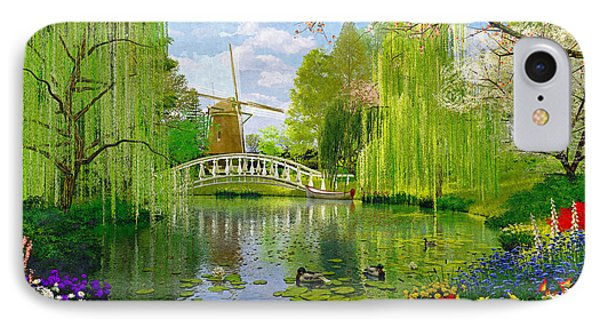 Windmill Lake IPhone Case