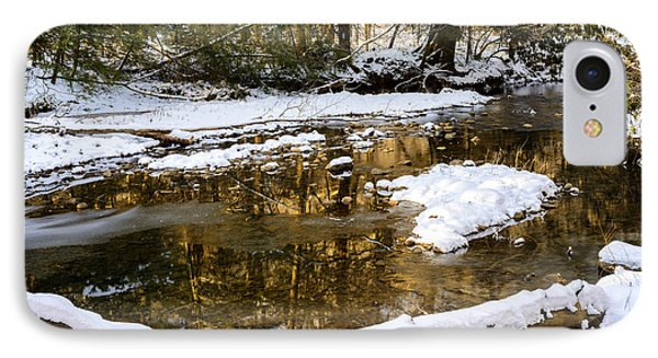 Winter Along Cranberry River Phone Case by Thomas R Fletcher