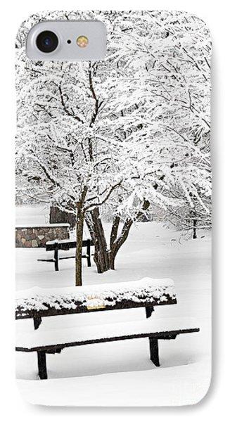 Winter Park IPhone Case by Elena Elisseeva