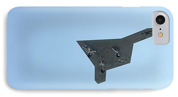 X-47b Unmanned Combat Air Vehicle IPhone Case by Us Air Force