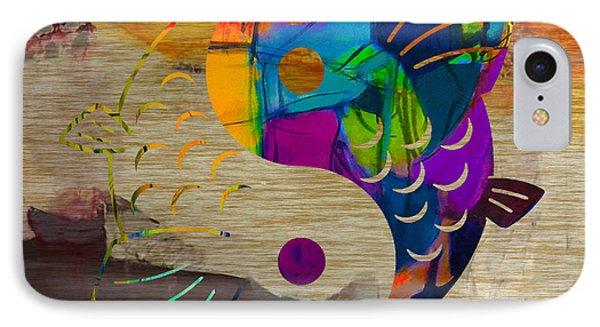 Yin Yang Koi IPhone Case by Marvin Blaine
