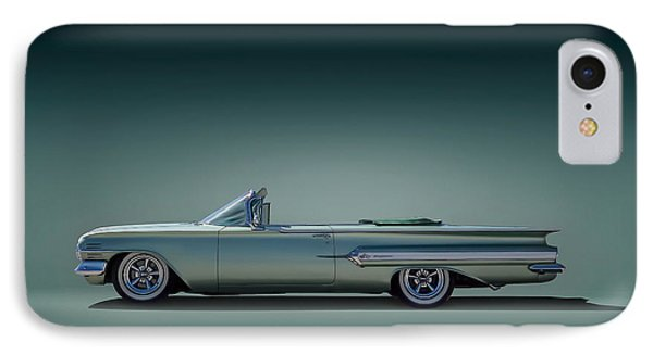 60 Impala Convertible IPhone Case by Douglas Pittman