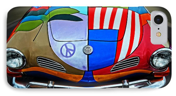 60s Wild Ride IPhone Case by Mary Machare