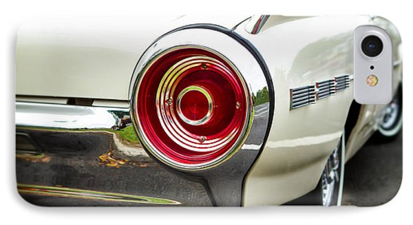 62 Thunderbird Tail Light IPhone Case by Jerry Fornarotto