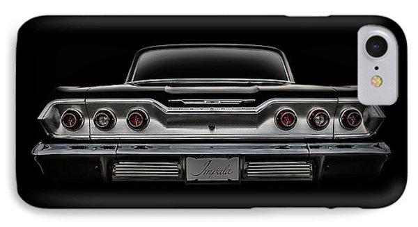 '63 Impala IPhone Case by Douglas Pittman
