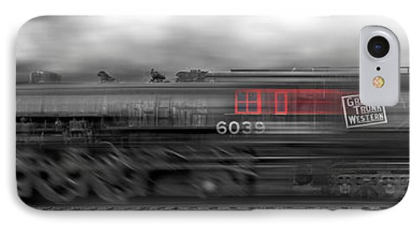 6339 On The Move Panoramic IPhone Case by Mike McGlothlen