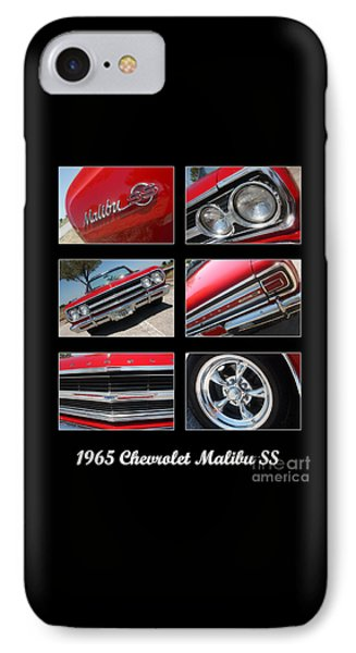 65 Malibu Ss Poster Phone Case by Gary Gingrich Galleries