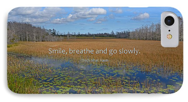 69- Thich Nhat Hanh IPhone Case by Joseph Keane