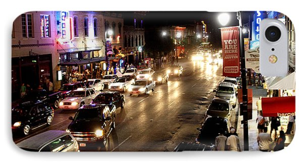 6th Street Austin Texas IPhone Case