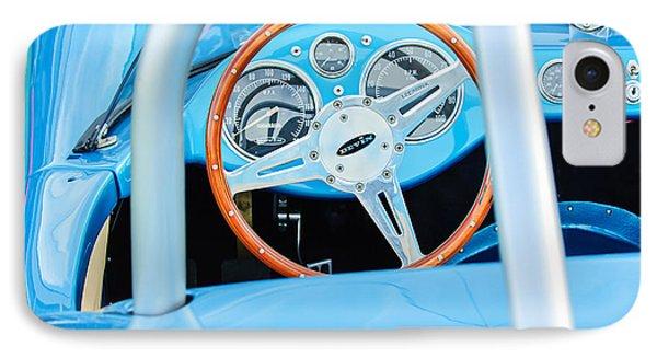 1959 Devin Ss Steering Wheel Phone Case by Jill Reger