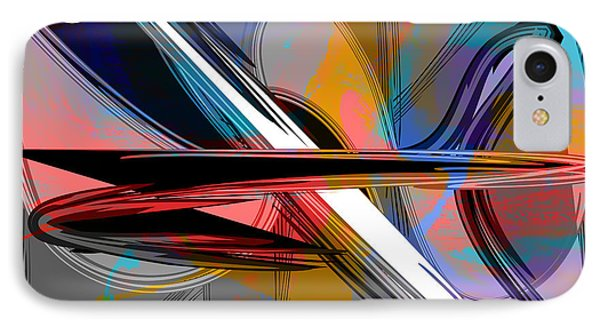 Abstract Art Collection IPhone Case by Marvin Blaine