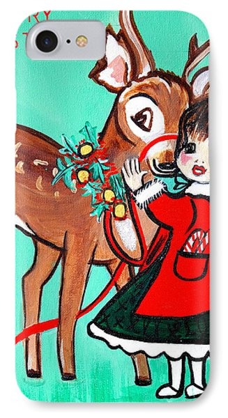 IPhone Case featuring the painting Art Deco by Nora Shepley