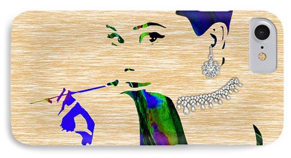 Audrey Hepburn Diamond Collection IPhone 7 Case