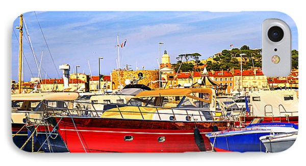 Boats At St.tropez Phone Case by Elena Elisseeva