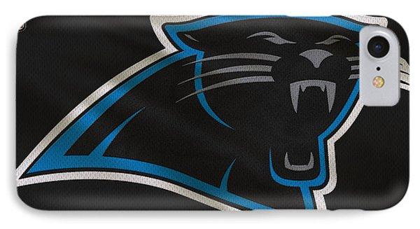 Panther iPhone 7 Case - Carolina Panthers Uniform by Joe Hamilton