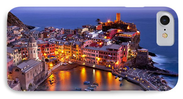 Cinque Terre IPhone Case by Brian Jannsen
