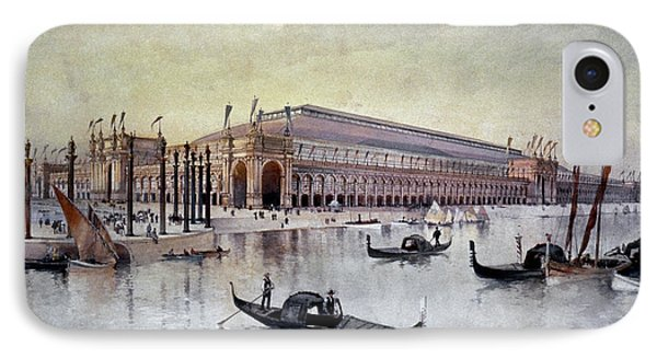 Columbian Exposition, 1893 IPhone Case by Granger