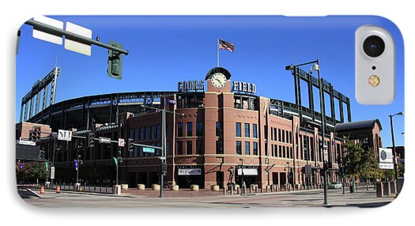 Coors Field - Colorado Rockies IPhone Case