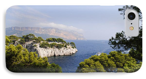 Beautiful View At The Bay On Cote D'azur IPhone Case by Maja Sokolowska