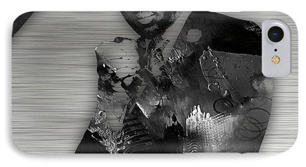 Empire's Malik Yoba Vernon Turner IPhone Case by Marvin Blaine