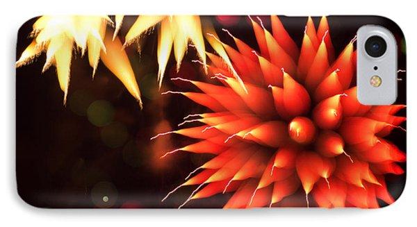 Fireworks Art Phone Case by Benjamin Simeneta