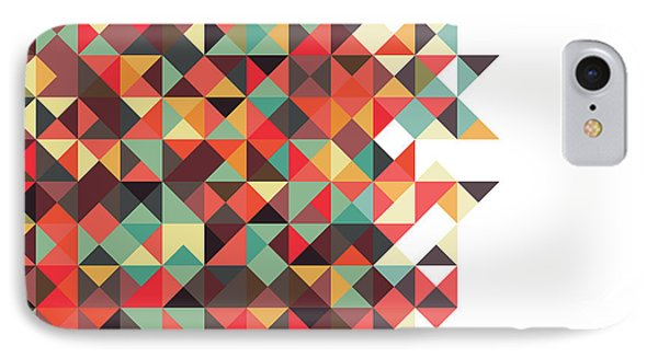 Geometric Art IPhone Case by Mike Taylor