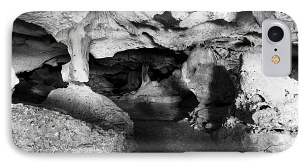 Green Grotto Caves IPhone Case by Bill Howard