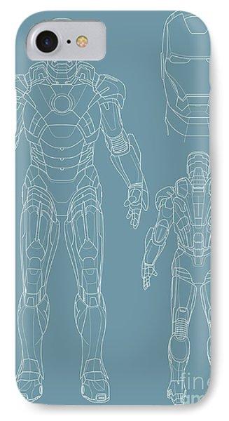 Iron Man Phone Case by Caio Caldas