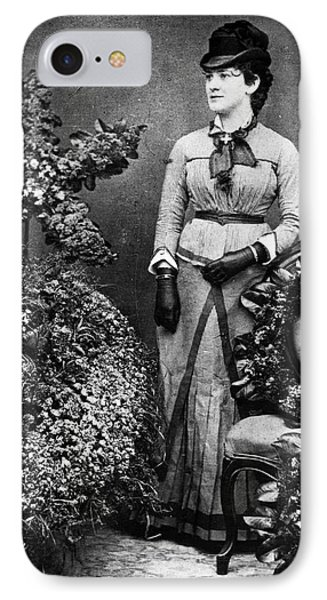 Lillian Nordica (1857-1914) IPhone Case by Granger
