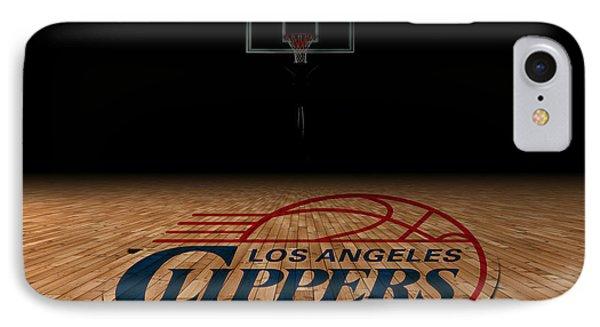 Los Angeles Clippers IPhone Case by Joe Hamilton