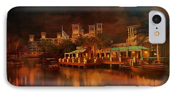 Madinat Jumeirah Phone Case by Catf