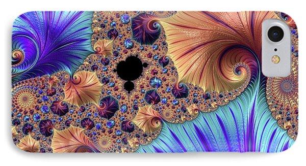 Mandelbrot Fractal IPhone Case by Alfred Pasieka