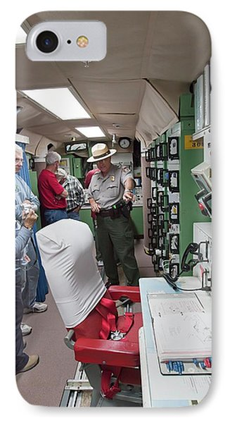 Minuteman Missile Control Room IPhone Case by Jim West