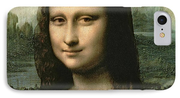 Mona Lisa Phone Case by Leonardo Da Vinci