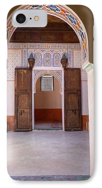 Morocco, Marrakech IPhone Case by Emily Wilson