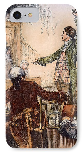 Patrick Henry (1736-1799) Phone Case by Granger