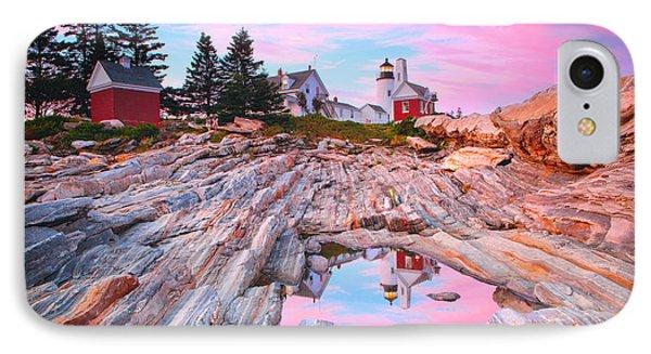 Pemaquid Lighthouse IPhone Case by Emmanuel Panagiotakis