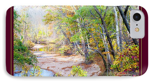 IPhone Case featuring the photograph Pennsylvania Stream In Autumn by A Gurmankin
