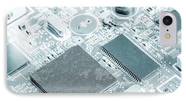 Printed Circuit Board IPhone Case by Wladimir Bulgar