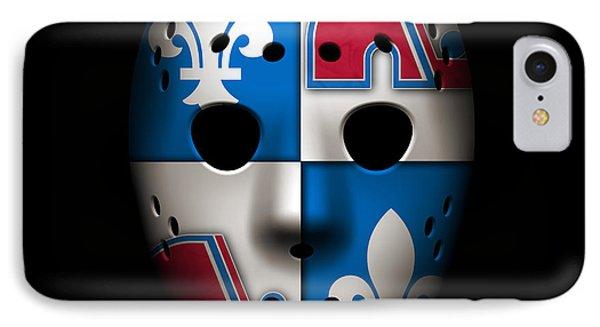 Quebec Nordiques Phone Case by Joe Hamilton