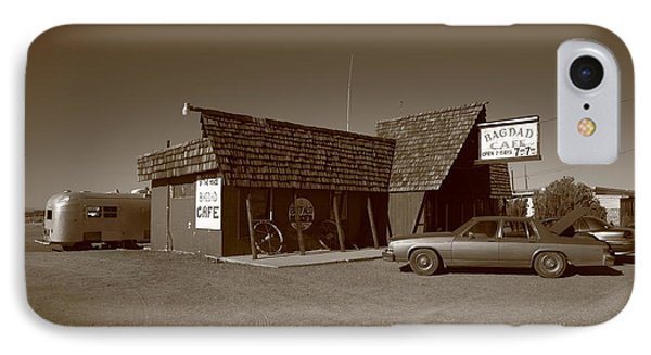 Route 66 - Bagdad Cafe Phone Case by Frank Romeo