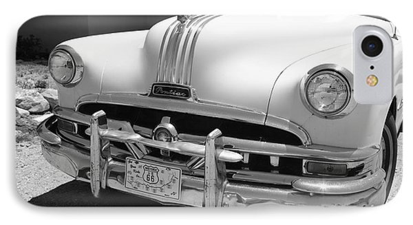 Route 66 - Classic Car Phone Case by Frank Romeo